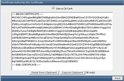 DirectAdmin: Cài đặt chứng chỉ số SSL